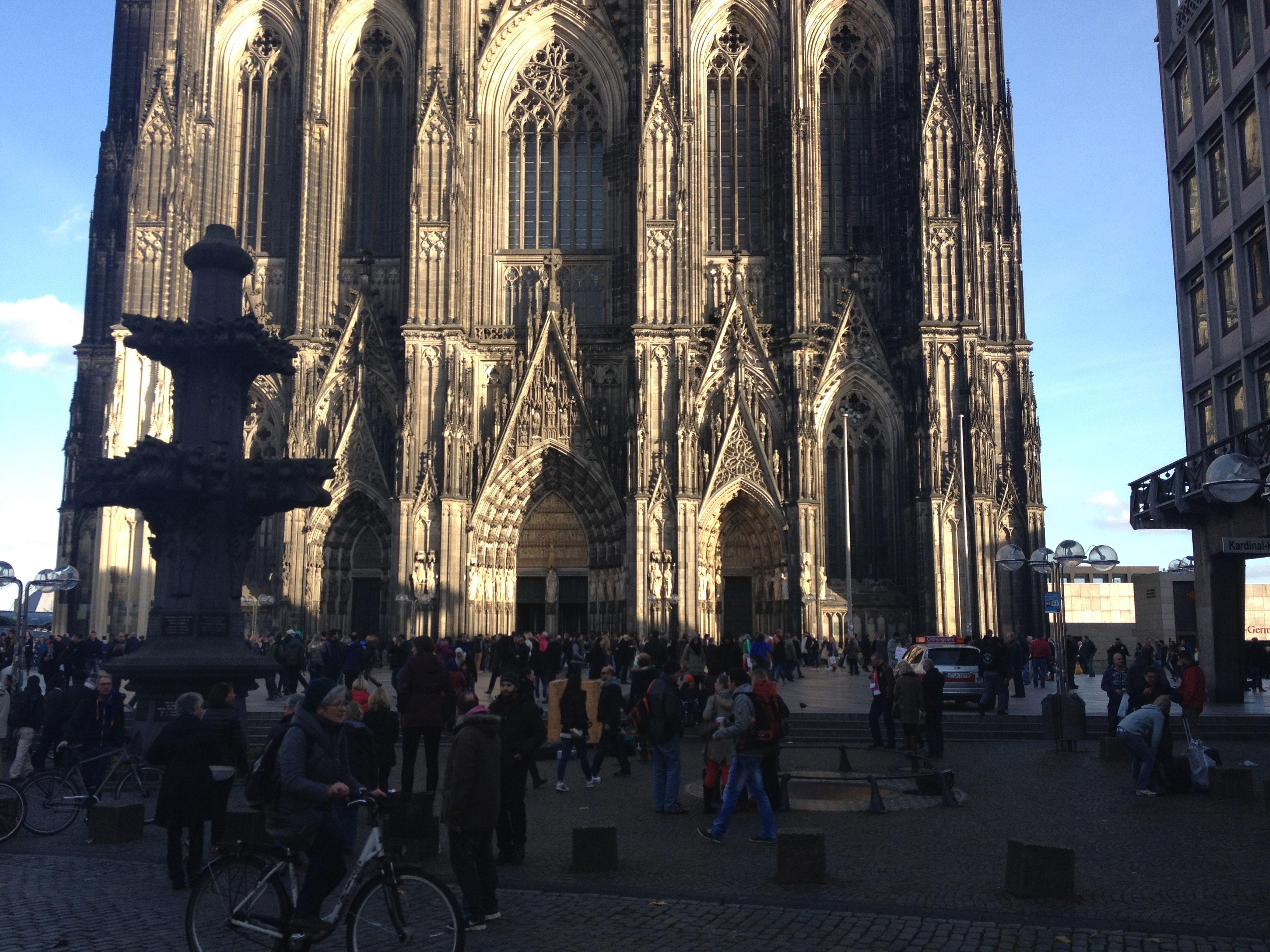 Kölner Innenstadt: Domplatte