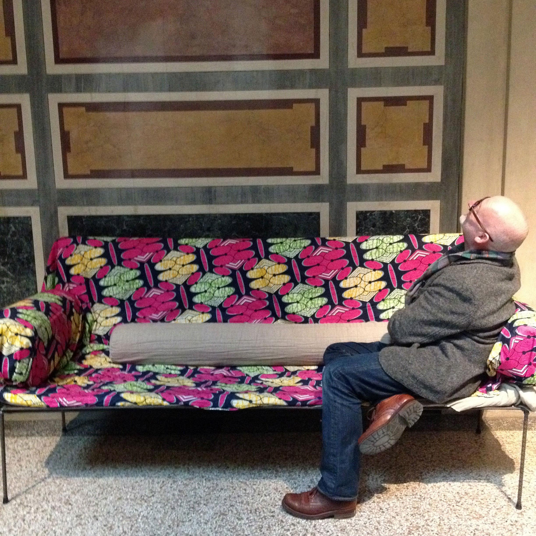 Martin Bohn, Sofa:  Franz West,  MAK Wien