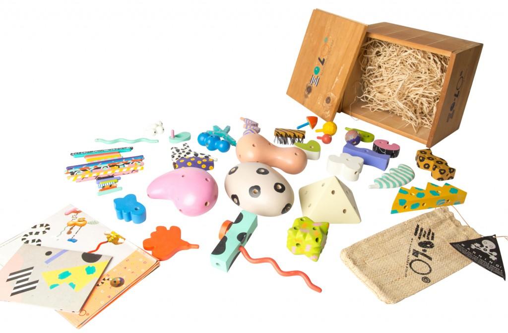 Spielzeugbox 'Zolo', Higashi Glaser Design 1987