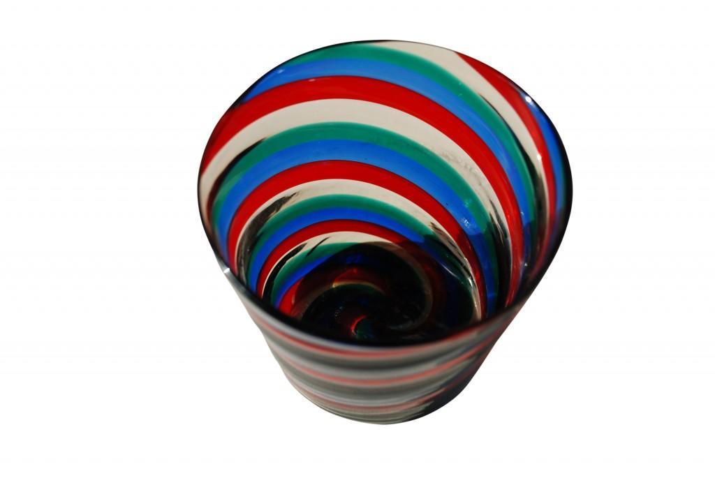 Vase 'A spirale', Fulvio Bianconi 1950er Jahre
