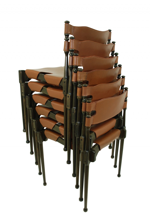 Sechs Stühle 'Montreal', Frei Otto 1967