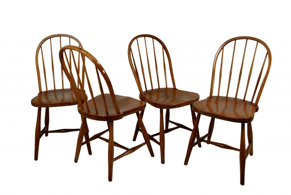 Vier Stühle 'Mod. B 936', Josef Frank 1920er Jahre