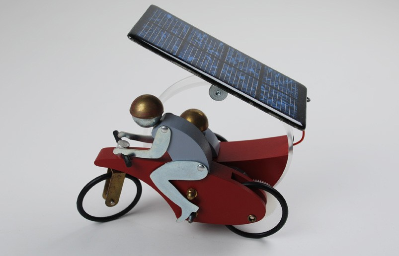 Solarspielzeug 'motosolino', Peter Wuthrich