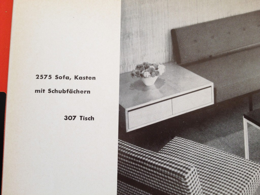 Kasten mit Schubfächern, Florence Knoll 1950er Jahre
