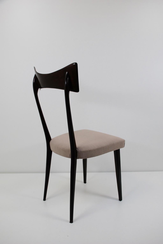 Sechs Stühle, Ico Parisi (im Stile von) 1950er Jahre