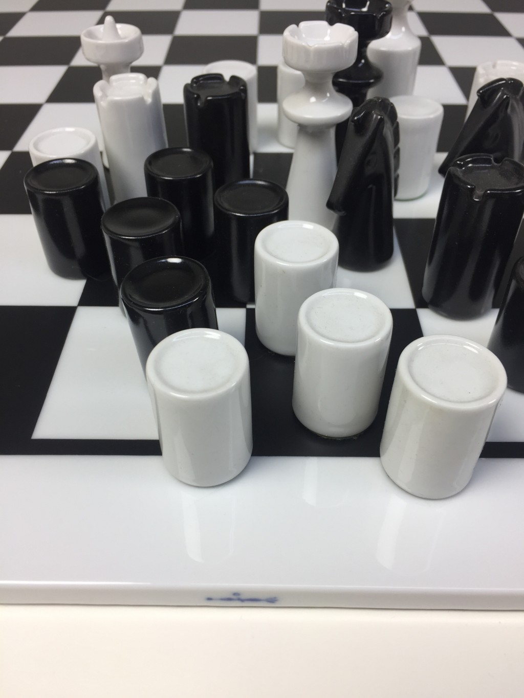 Schachspiel, Trude Petri 1966