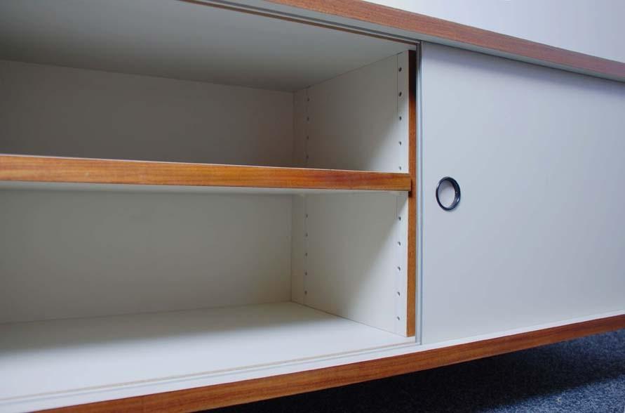 Möbelsystem M 125, zweitüriges Sideboard, Hans Gugelot 1950/56
