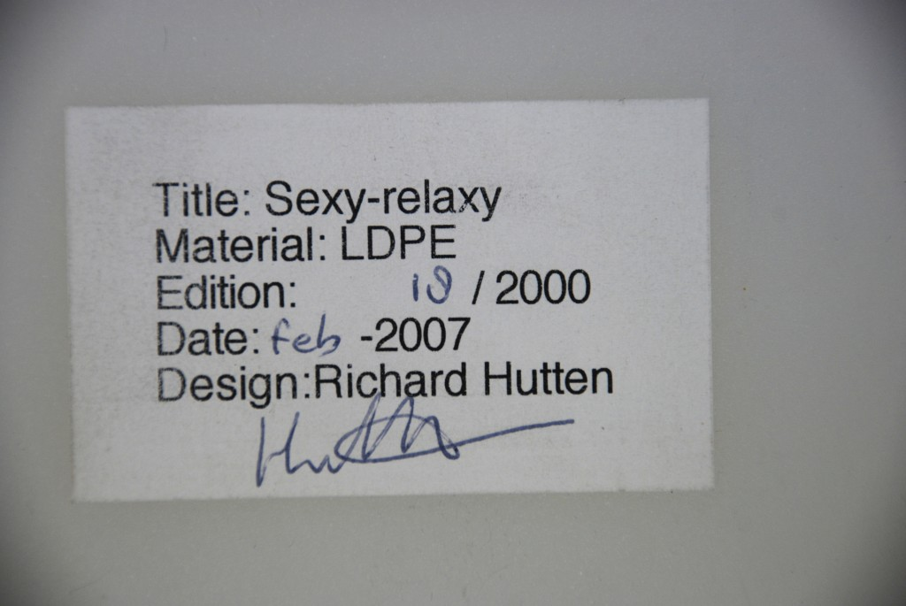 Stuhl 'Sexy-relaxy', Richard Hutten 2007