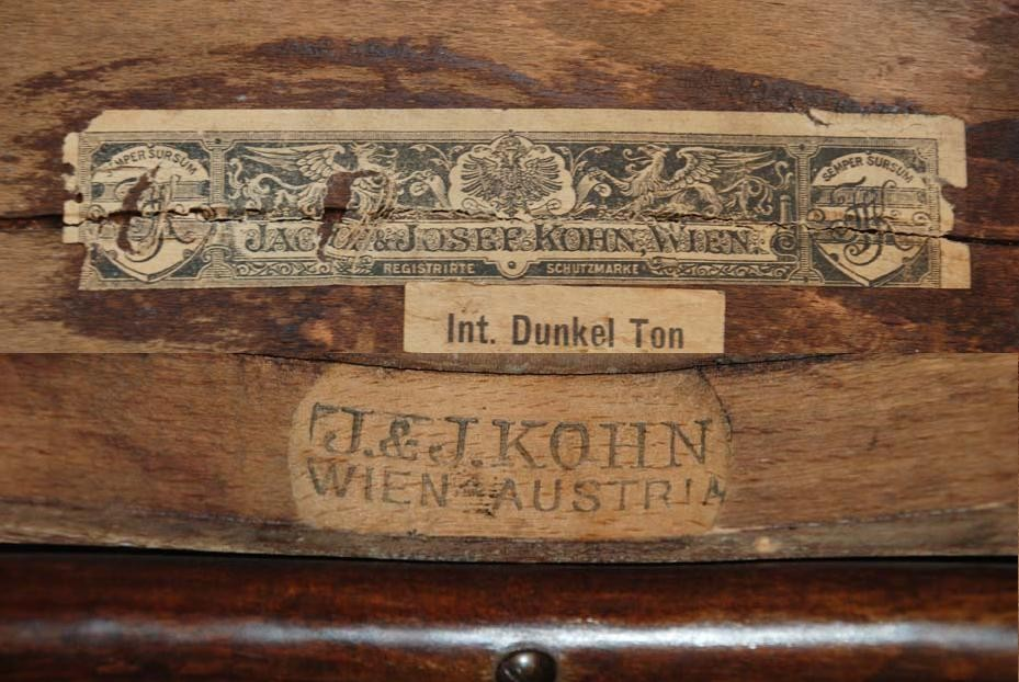 Bank 'Nr 147/C', Wien um 1910