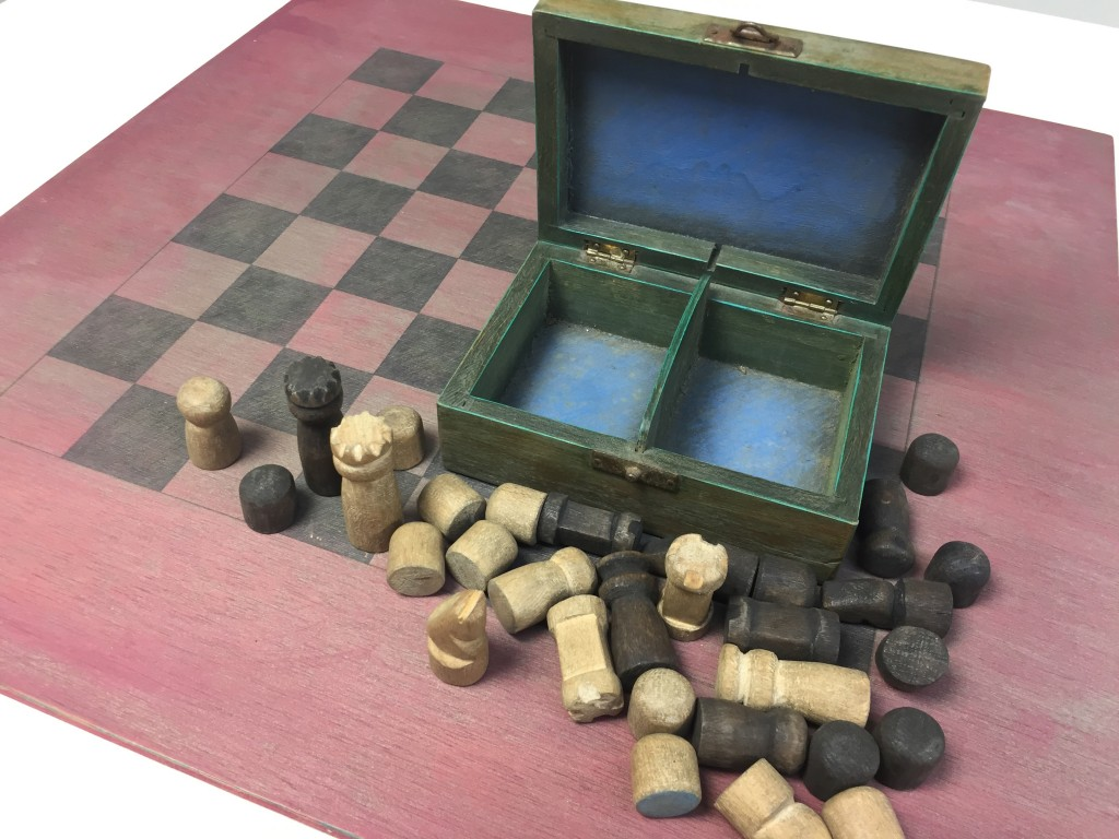 Schachspiel 'Unikat', Josef Assenmacher 1944