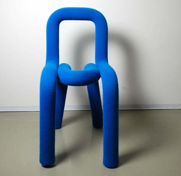 Stuhl 'bold chair', Designstudio Big-Game: Elric Petit, Augustin Scott, Gregoire Jeanmonod, 2007
