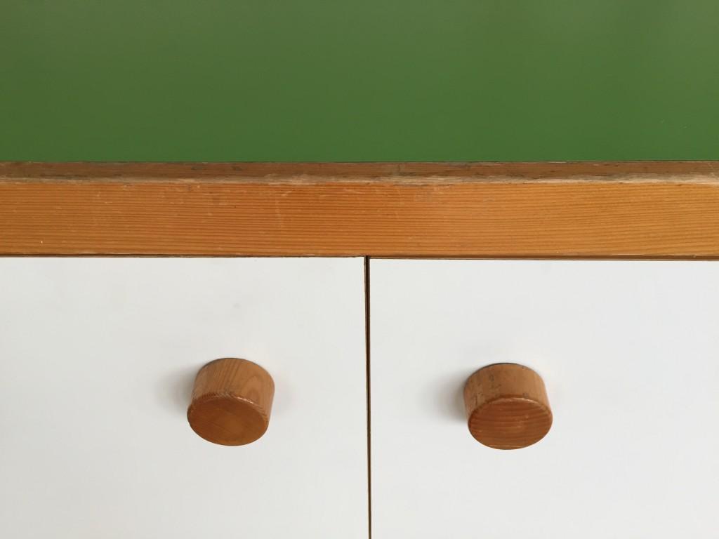 Sideboard 2-Türig 'les arcs', Charlotte Perriand 1960er Jahre