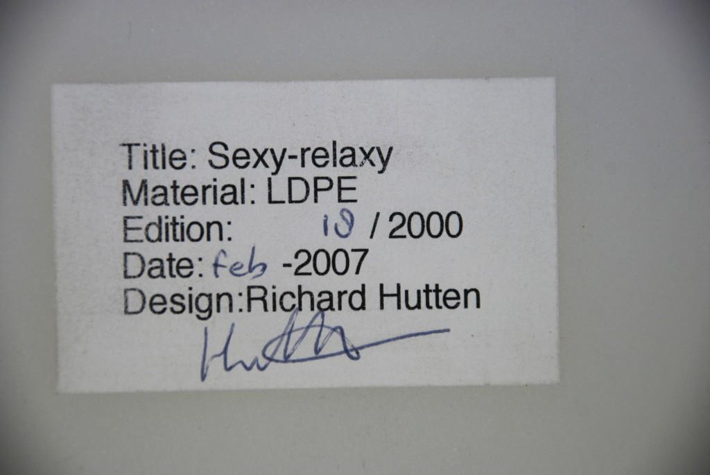 Stuhl 'Sexy-relaxy', Richard Hutten 2007