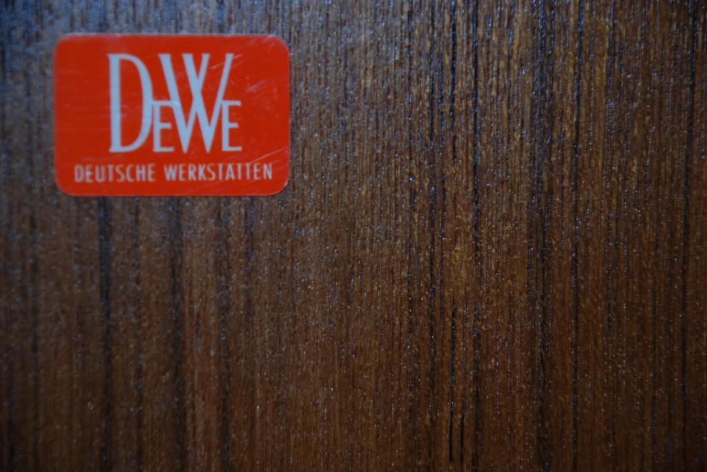 Bücherschrank 'DeWe', 1960er Jahre
