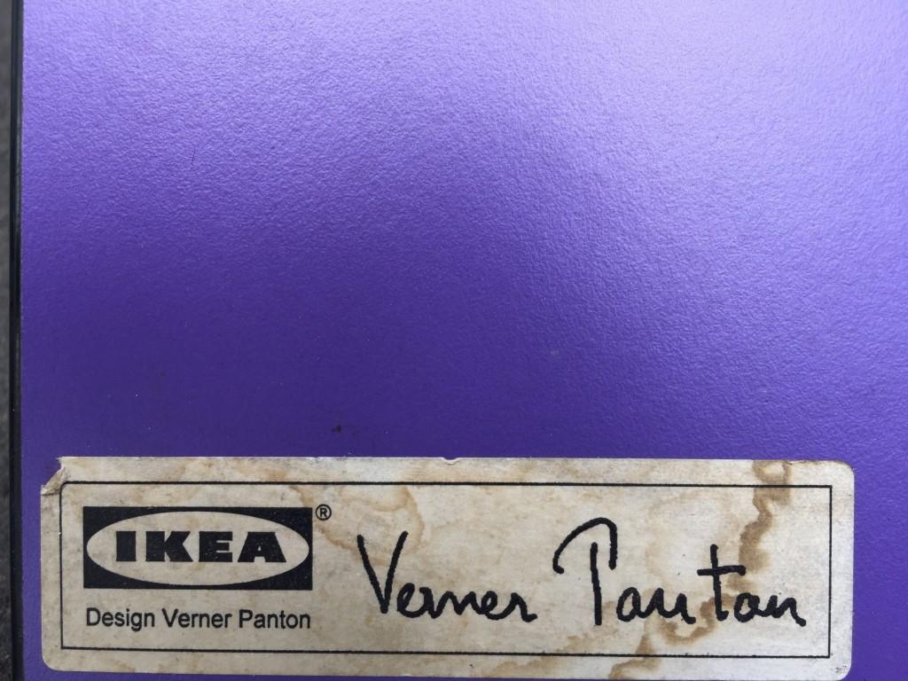 Paar Stühle 'Vilbert', Verner Panton 1993