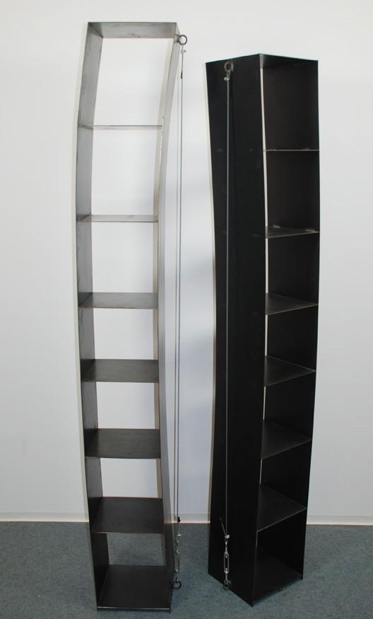 Verspanntes Regal, Wolfgang Laubersheimer 1984
