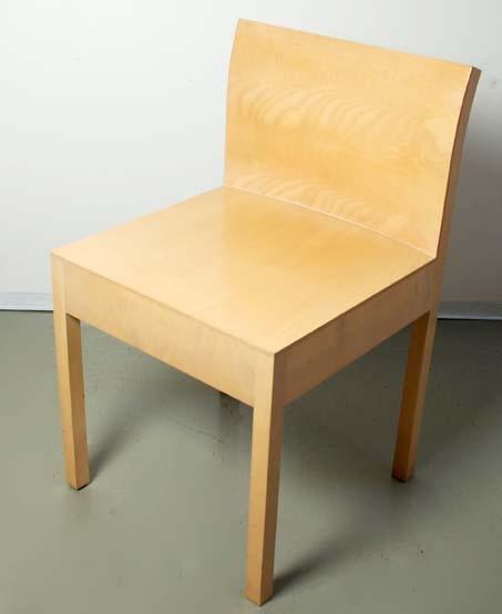 Tisch mit vier Stühlen, Peter Wigglesworth 1993/96