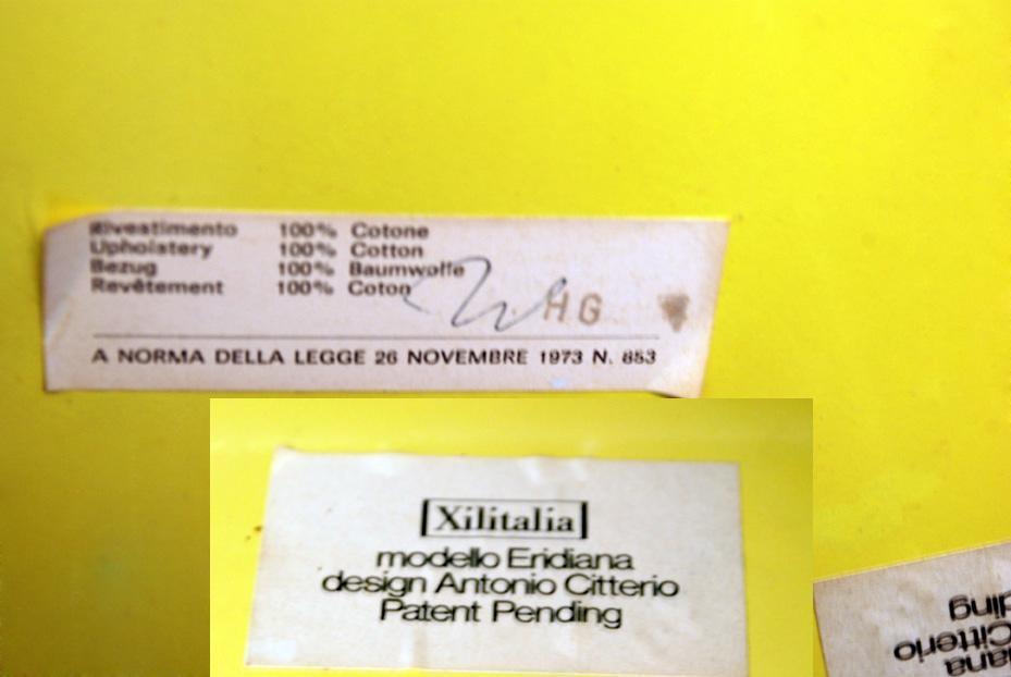 Armlehnstuhl 'Eridiana', Antonio Citterio 1973