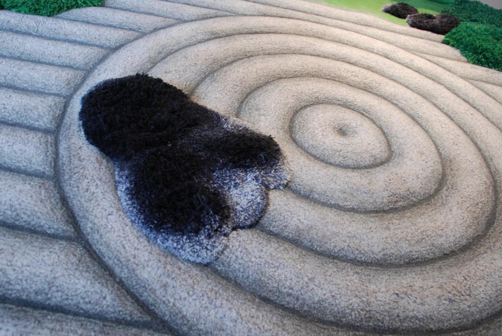 Unikat - Teppich 'Japanischer Garten', Beate Zimmermann 2002