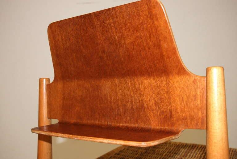 Zwei Stühle 'S 19', Egon Eiermann 1950er Jahre
