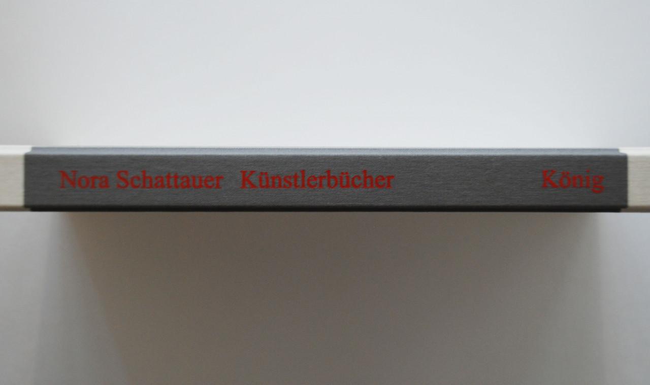 Nora Schattauer Künstlerbücher 1991 - 2000