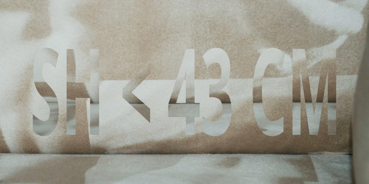 SH < 43 CM